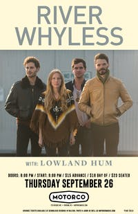 RIVER WHYLESS / Lowland Hum