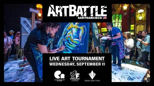 Art Battle San Francisco - September 11, 2019