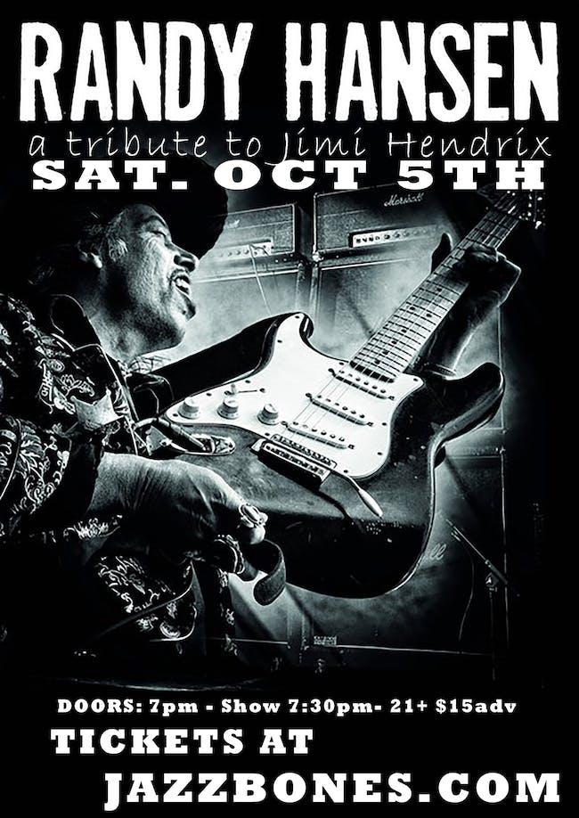 Randy Hansen ( Jimi Hendrix Tribute )