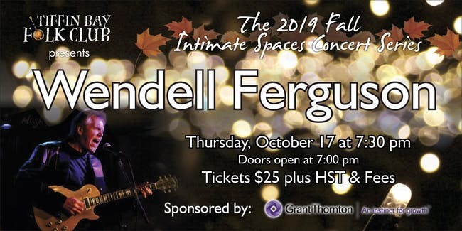 Fall Intimate Concert Series: Wendell Ferguson