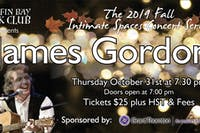 Fall Intimate Concert Series: James Gordon