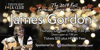 Fall Intimate Concert Series: James Gordon