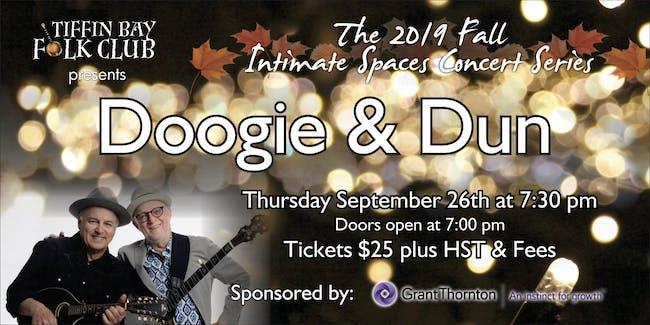 Fall Intimate Concert Series: Doogie & Dun