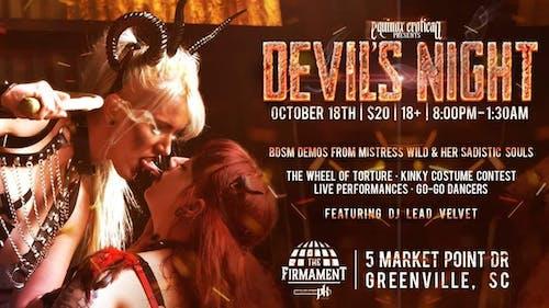 Equinox Erotica Presents: Devil's Night