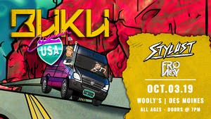 Buku - Cruisin' USA Tour
