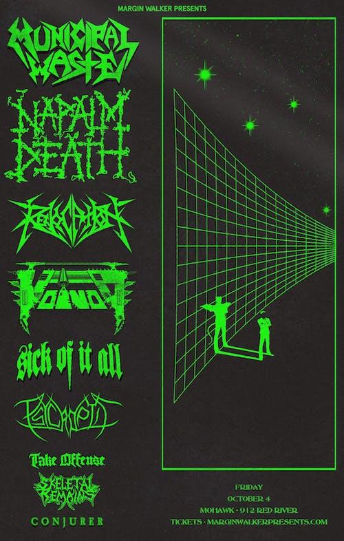 Napalm Death + Municipal Waste @ Mohawk