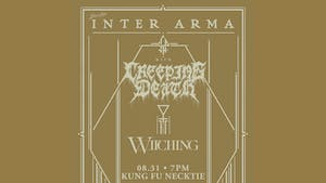 Inter Arma ~ Creeping Death ~ Witching