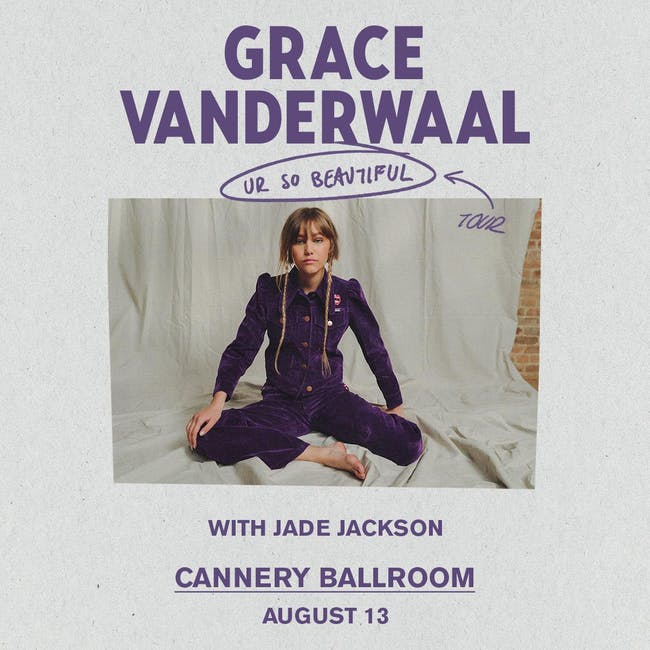 Grace VanderWaal - Ur So Beautiful Tour w/ Jade Jackson