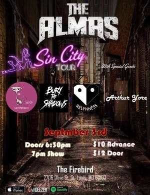 "The Almas ""Sin City"" Tour"