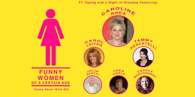 Funny Women of a Certain Age