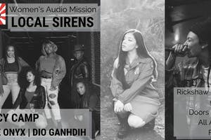 Local Sirens Series with LUCY CAMP, The Onyx, and Dioganhdih