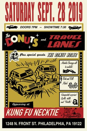 The Donuts / Travel Lanes / The Donut Holes
