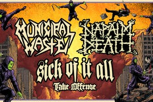 Municipal Waste / Napalm Death