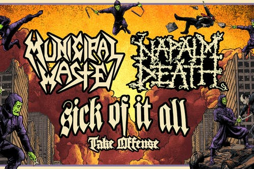 Napalm Death / Municipal Waste