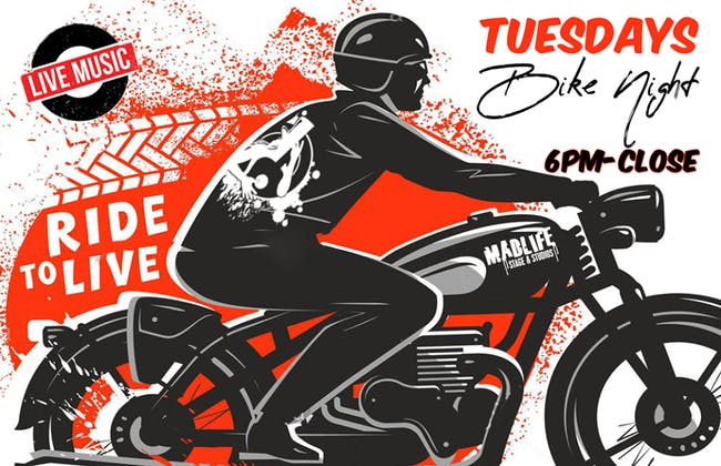 Bike & Patio Music Nights (No Cover)