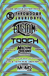 Blastfome & ToOch w/ Machine Dreams // Pocket Shuffle // So Gnar + More TBA