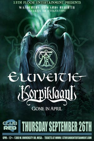 13th Floor Entertainment » Eluveitie