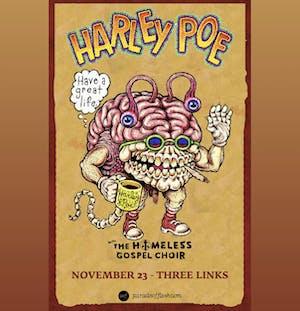HARLEY POE • The Homeless Gospel Choir