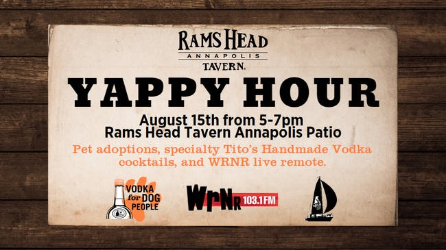 Yappy Hour with Tito's and WRNR