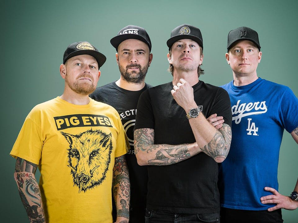 Millencolin with Mest