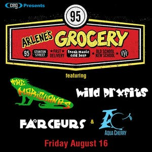 Aqua Cherry with The Mariguanas, The Farceurs, and Wild Prxfits
