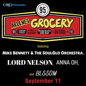 Mike Bennett and the SoulGlo Orchestra, Lord Nelson, Anna Oh, BLSSOM