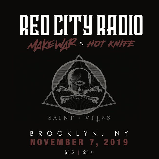 Red City Radio, Hot Knife, Lost in Society, Jose Prieto