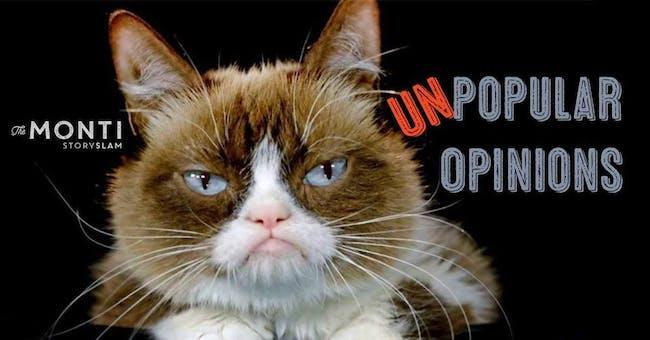 The Monti StorySLAM: Unpopular Opinions