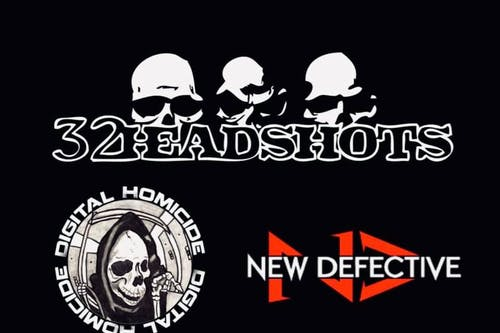 *Whiskey Junction* 32HEADSHOTS with New Defective and Digital Homicide
