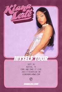 KIANA LEDÉ: 'Myself Tour' - Austin