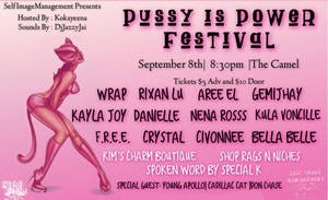 Self Image Management presents Pussy Is Power Festival