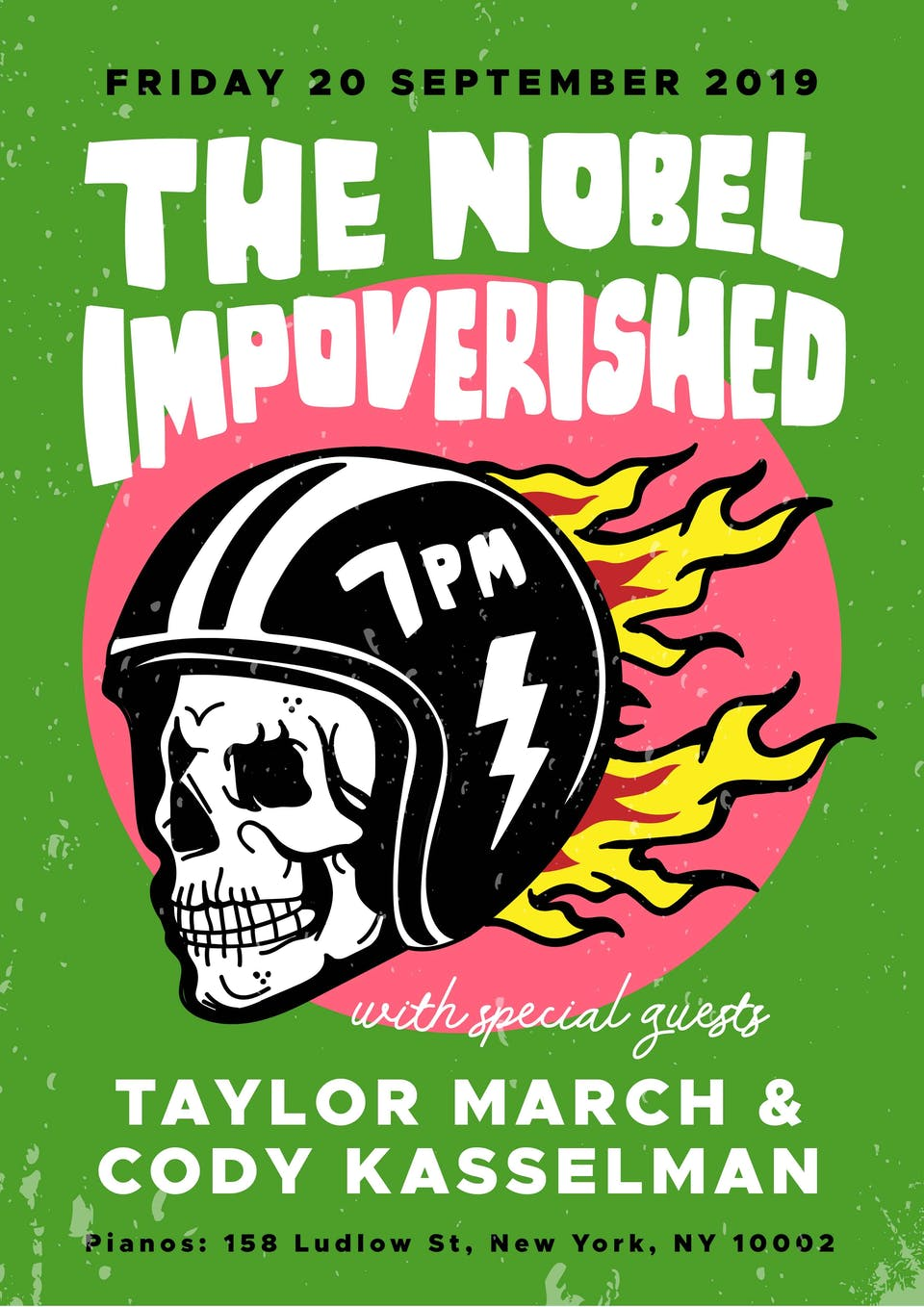 The Noble Impoverished, Taylor March, Cody Kasselman