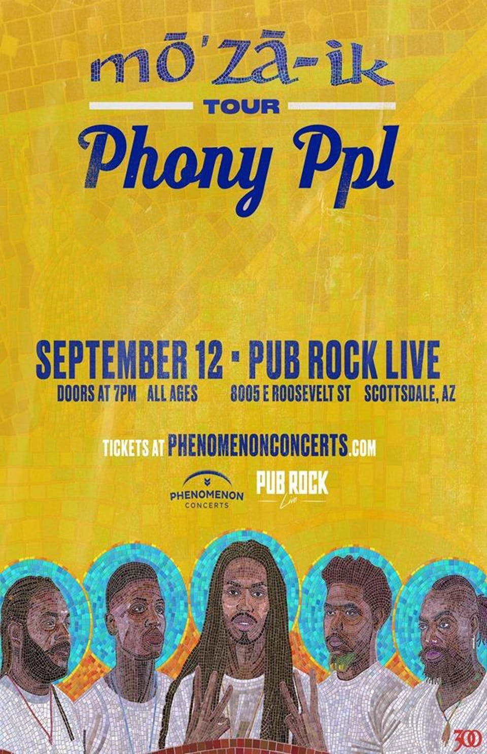 PHONY PPL - MO'ZA-IK TOUR