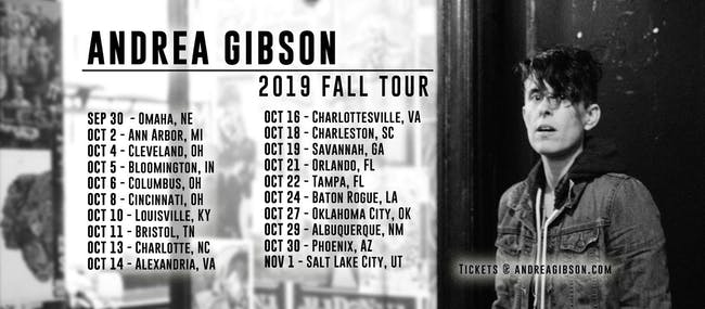 Andrea Gibson @ Legends (10/8)