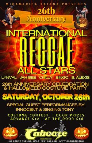International Reggae All Stars – 26th Anniversary Celebration