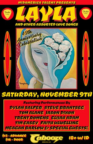 Layla & Other Assorted Love Songs –  49th Anniversary Celebration