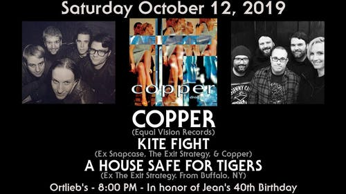 Copper with Kite Fight and A House Safe for Tigers