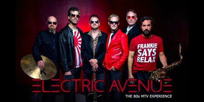 Electric Avenue - Standing Room Available - Tables Avail. for Late Show!
