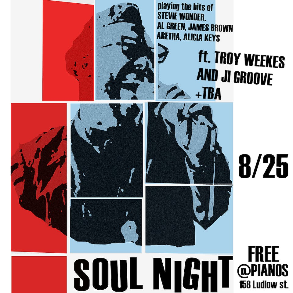 SOUL NIGHT - ft. Troy Weekes and JI Groove + Youth and Vanity (Free)