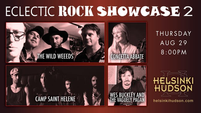 Eclectic Rock Showcase 2!