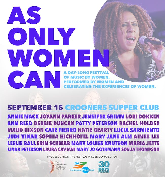 As Only Women Can - A Day of Music Led by Women