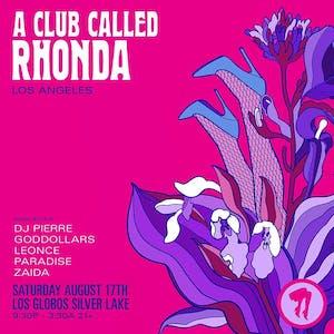 Club Called Rhonda (LA)