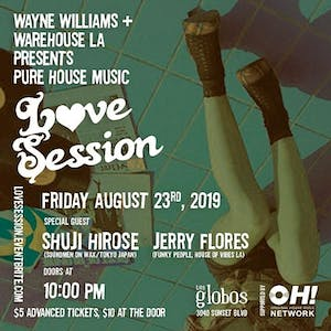 Warehouse LA presents Love Session