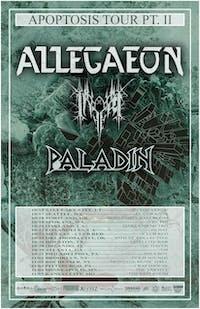 Allegaeon, Inferi, and Paladin