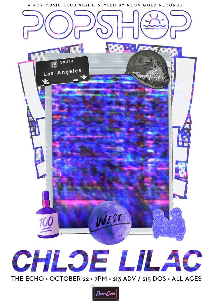 POPSHOP WEST 062: Chloe Lilac