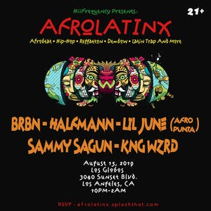 HiiFrequency Presents: AfroLAtinx
