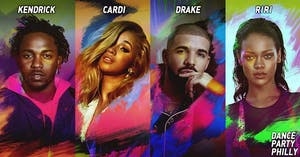 Kendrick, Cardi, Drake, Rihanna ~ Dance Party