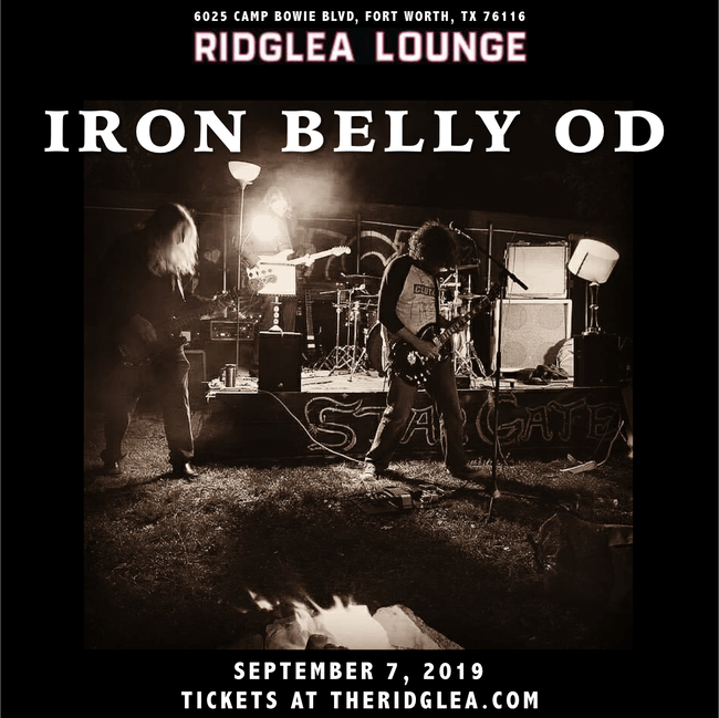 Iron Belly OD in the Lounge