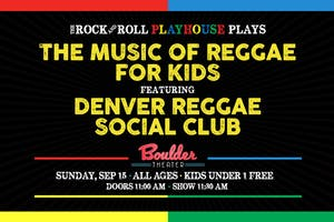 THE MUSIC OF REGGAE FOR KIDS
