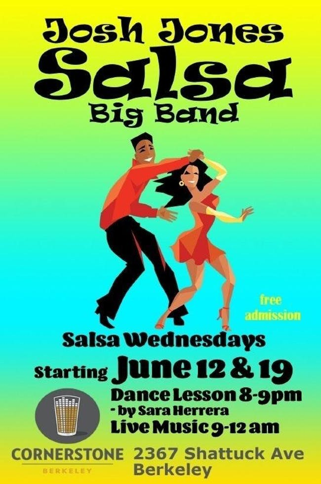 SALSA WEDNESDAYS with Josh Jones Salsa Big Band